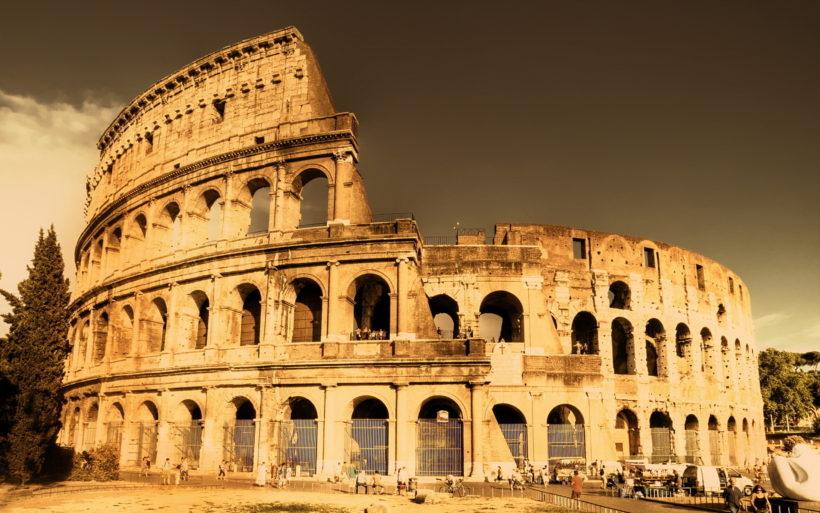Колизей, Древний Рим